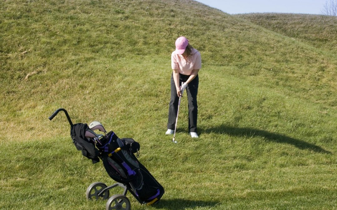WALKING THE GOLF COURSE…. CAN YOU DO IT?